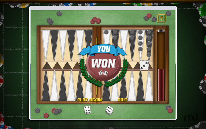 Screenshot 3 for Backgammon Deluxe Free!