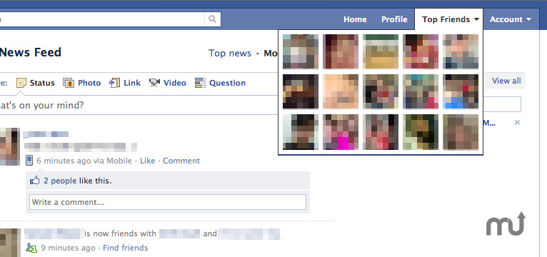 Screenshot 1 for Facebook Top Friends