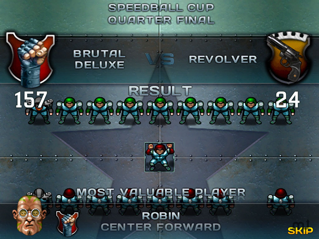 Screenshot 1 for Speedball 2: Evolution