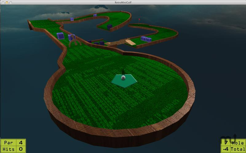 Screenshot 3 for RetroMiniGolf