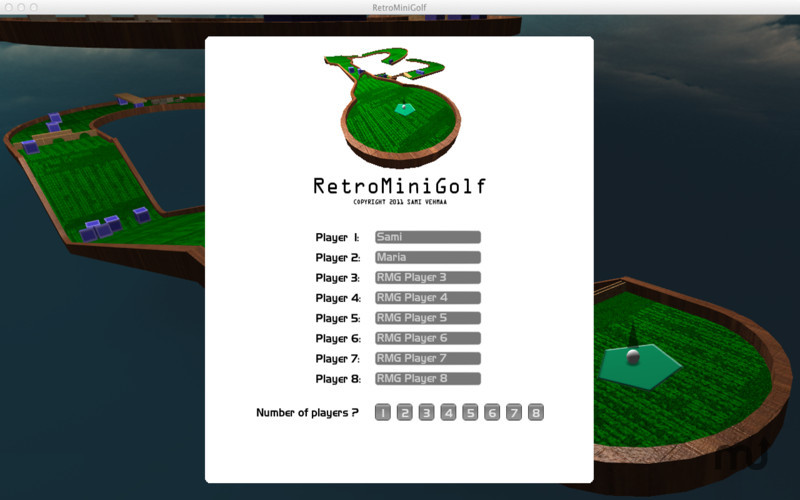 Screenshot 4 for RetroMiniGolf