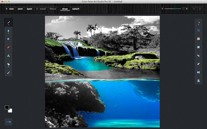 Screenshot 2 for Color Paint Art Studio Pro FX