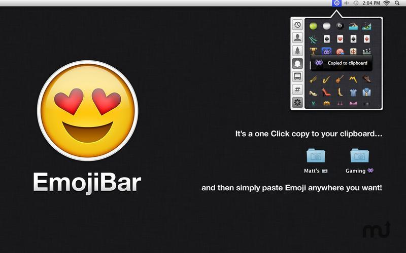 Screenshot 2 for EmojiBar