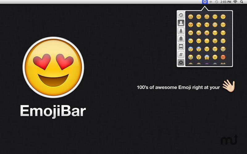Screenshot 3 for EmojiBar