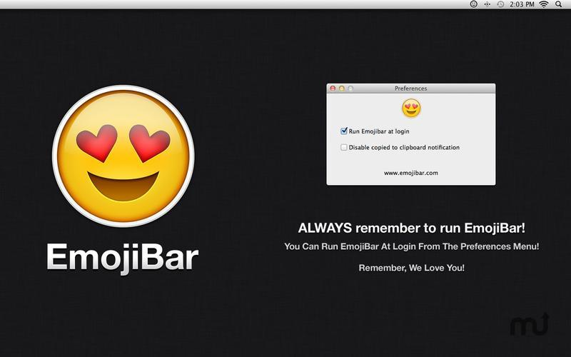 Screenshot 4 for EmojiBar