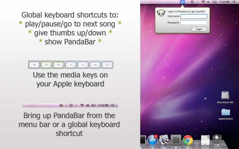 Screenshot 3 for PandaBar