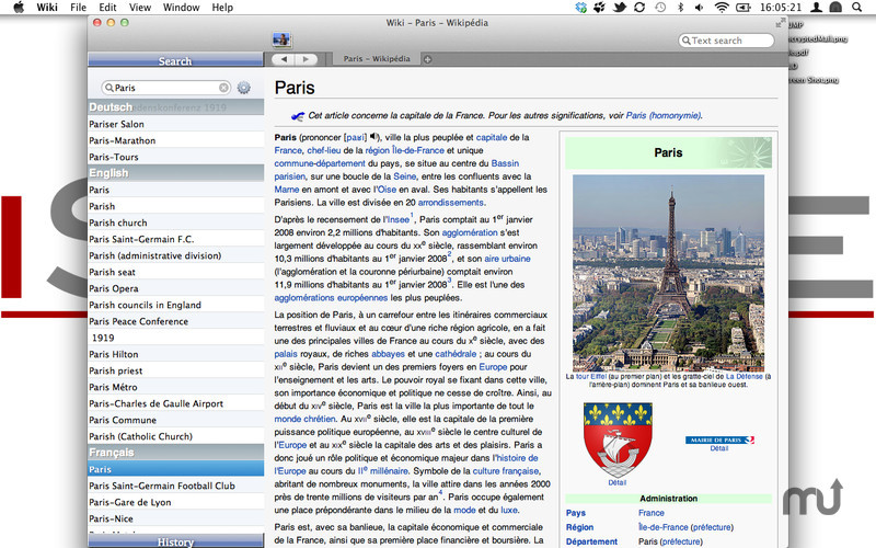 Screenshot 1 for Wiki Reader