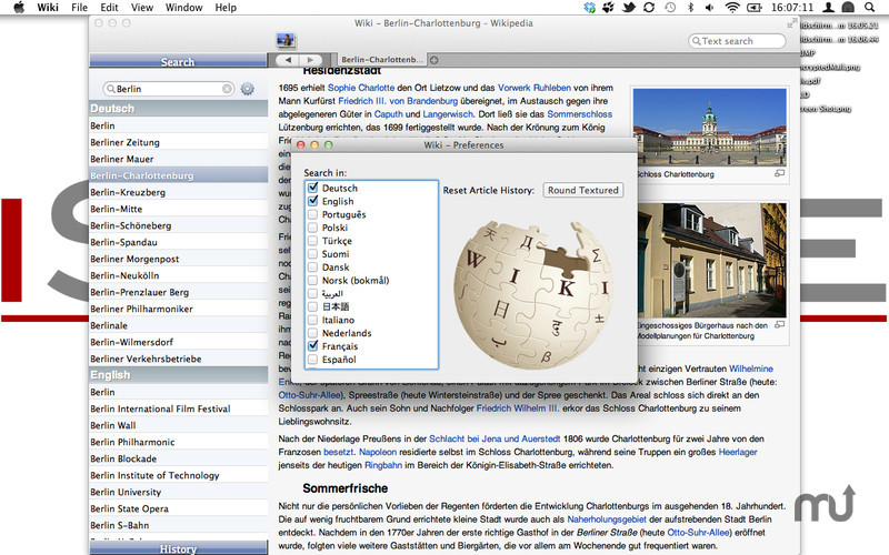 Screenshot 3 for Wiki Reader