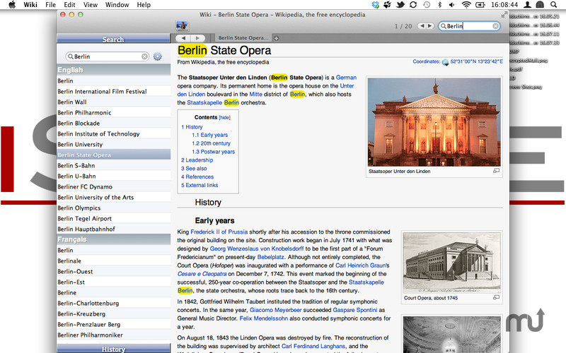 Screenshot 4 for Wiki Reader