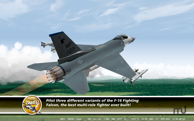 Screenshot 1 for Falcon 4.0: Allied Force