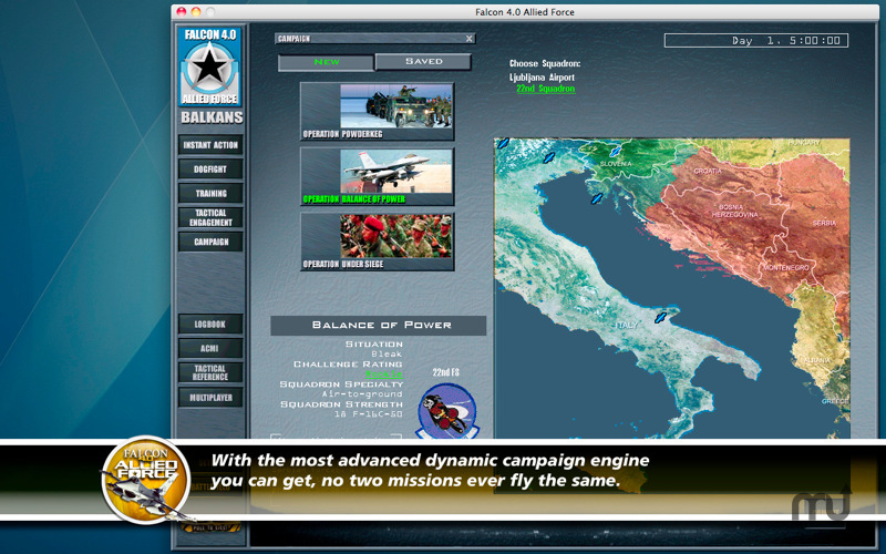 Screenshot 2 for Falcon 4.0: Allied Force