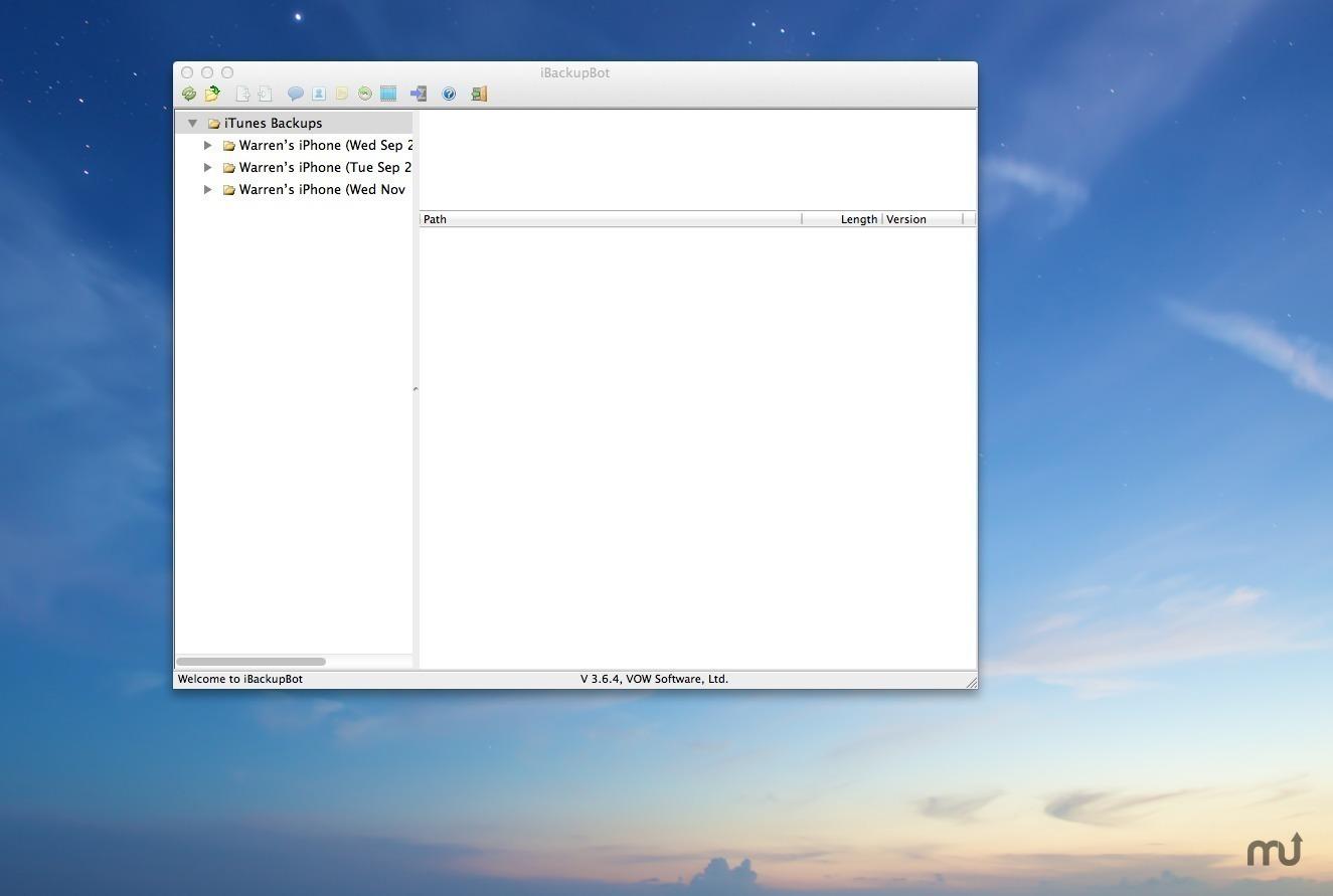 iBackupBot for Mac   MacUpdate