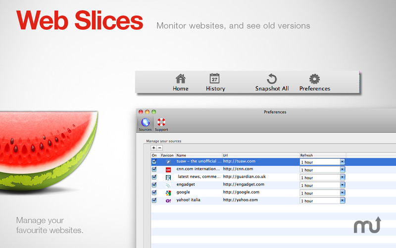 Screenshot 3 for Web Slices