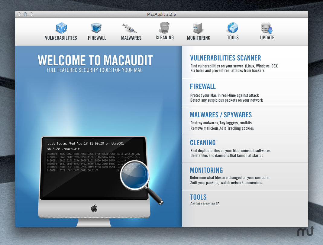 Screenshot 1 for MacAudit