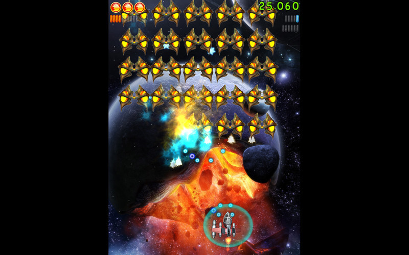 Screenshot 1 for Space Falcon Reloaded