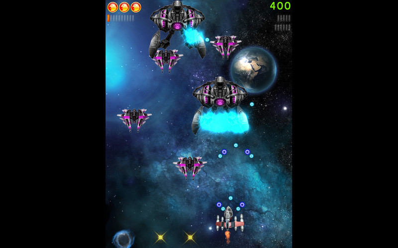 Screenshot 2 for Space Falcon Reloaded