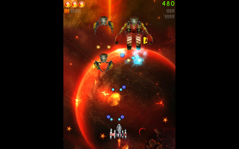Screenshot 3 for Space Falcon Reloaded