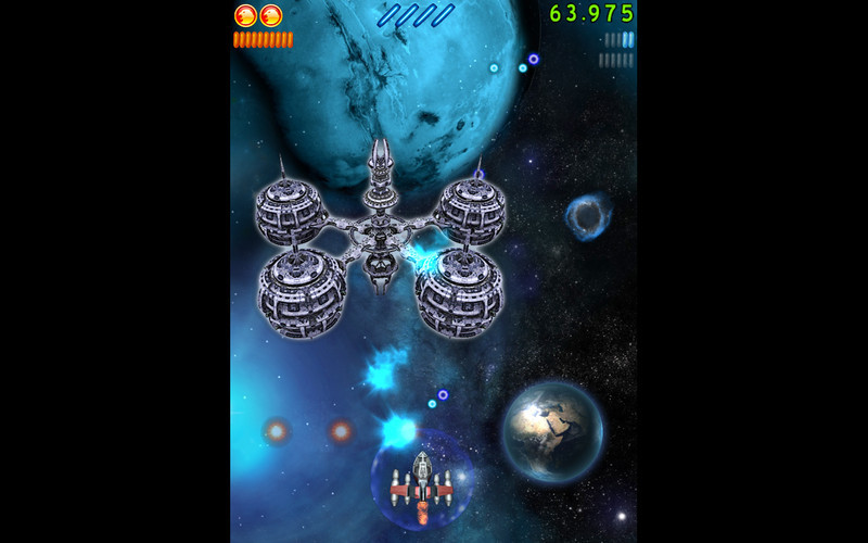 Screenshot 4 for Space Falcon Reloaded