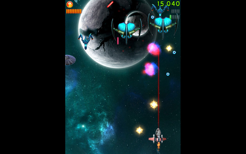 Screenshot 5 for Space Falcon Reloaded
