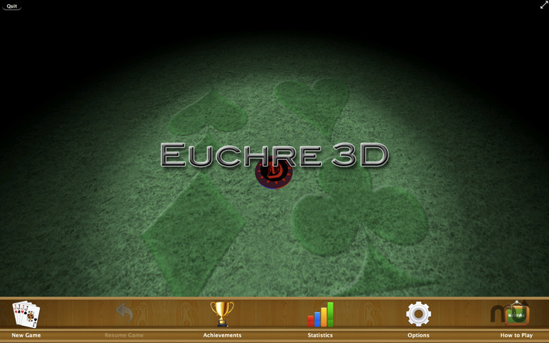 Screenshot 1 for Euchre 3D