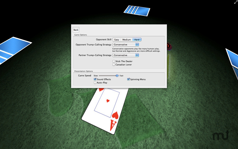 Screenshot 5 for Euchre 3D
