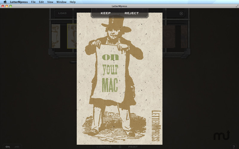 Screenshot 2 for LetterMpress