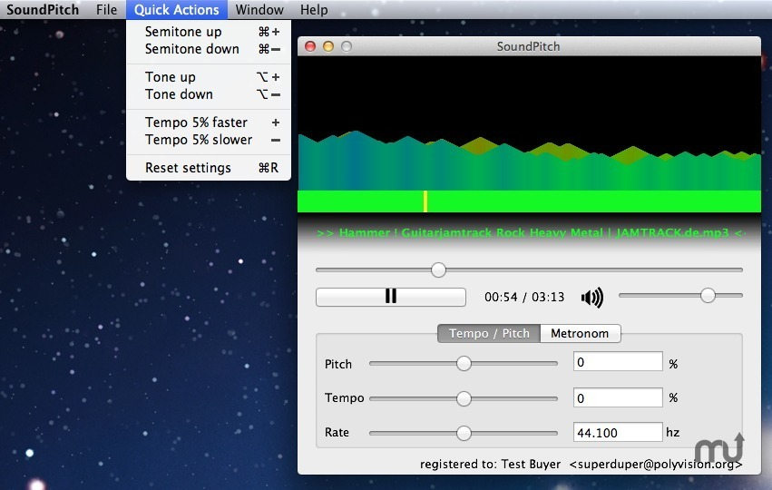 Screenshot 1 for SoundPitch