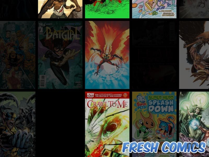 Screenshot 1 for Fresh Comics Screensaver