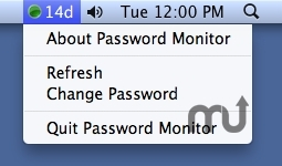 Screenshot 1 for Password Monitor