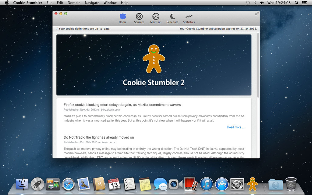 Screenshot 2 for Cookie Stumbler (5 Macs)