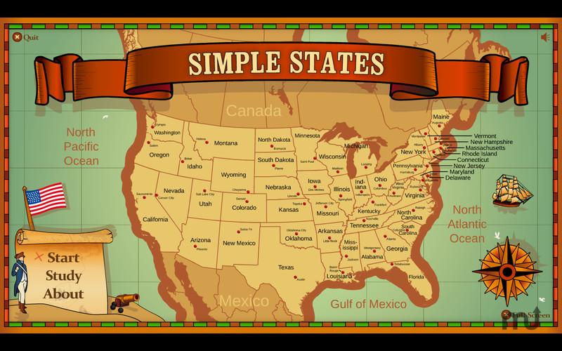 Screenshot 1 for Simple States