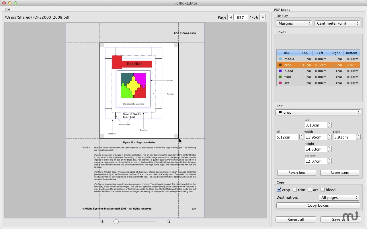 Screenshot 1 for PdfBoxEditor