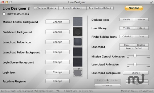 Screenshot 1 for Lion Designer
