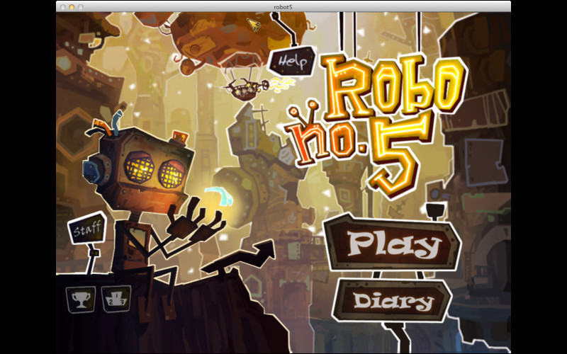 Screenshot 1 for Robo5 HD