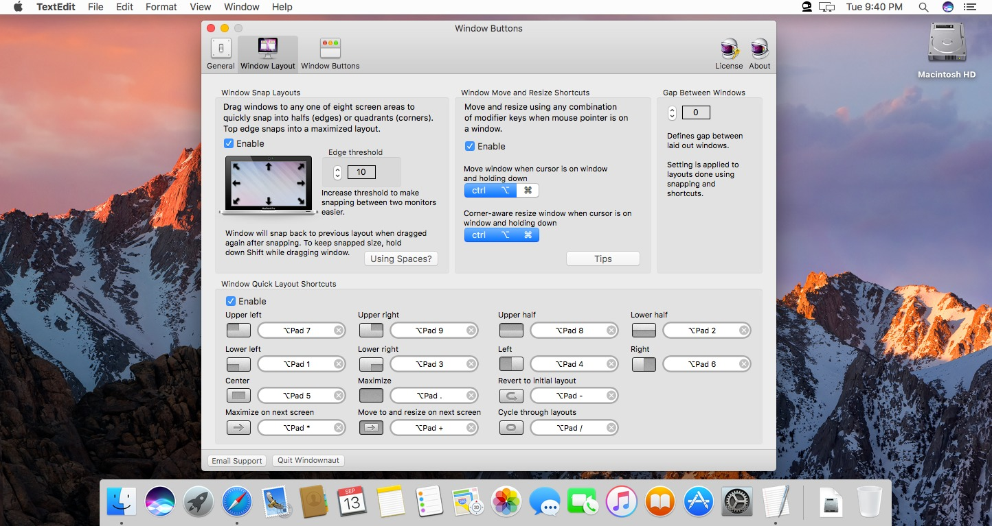 Screenshot 1 for Windownaut