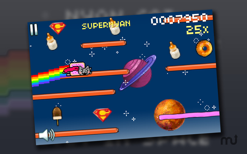 Screenshot 3 for Nyan Cat: Lost In Space