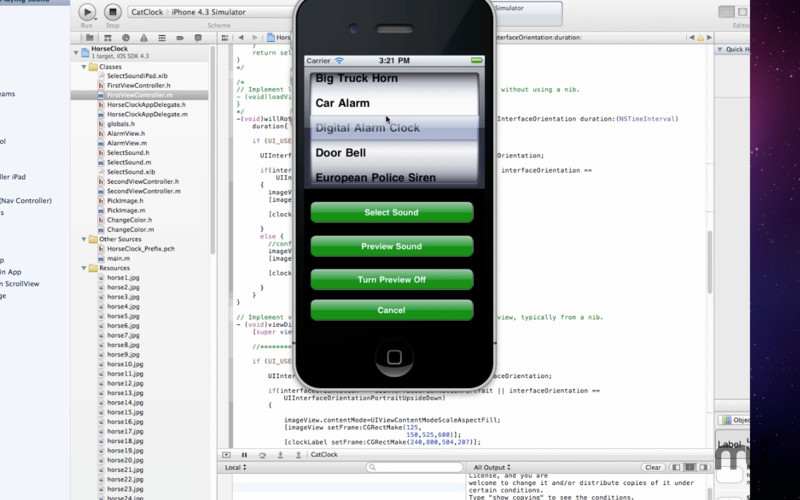 Screenshot 1 for Tutorial for Xcode