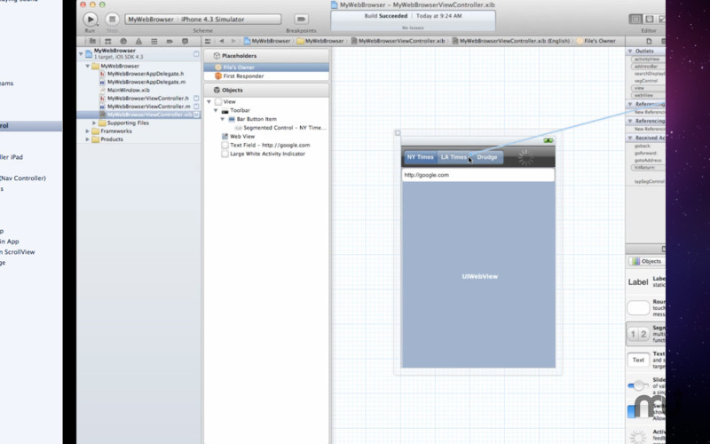 Screenshot 3 for Tutorial for Xcode
