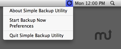 Screenshot 1 for Simple Backup Utility