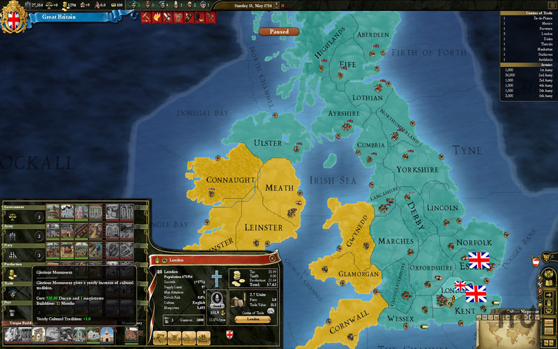 Screenshot 2 for Europa Universalis III Chronicles
