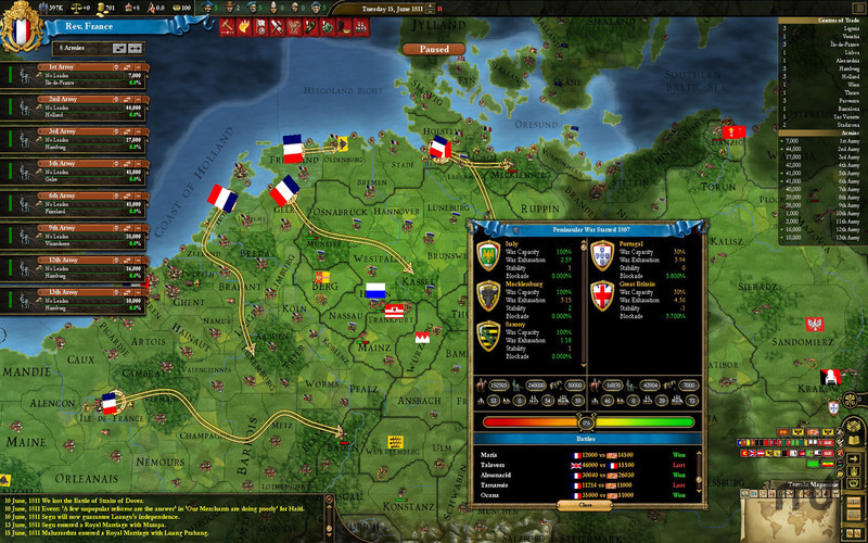Screenshot 3 for Europa Universalis III Chronicles