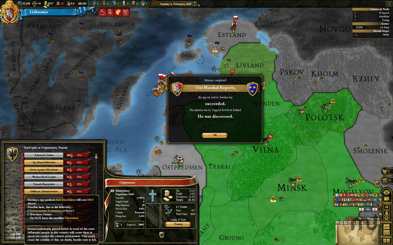 Screenshot 4 for Europa Universalis III Chronicles