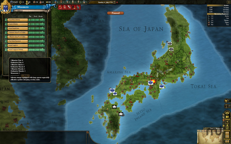 Screenshot 5 for Europa Universalis III Chronicles