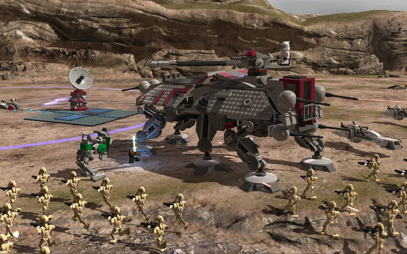 Screenshot 4 for LEGO Star Wars III: The Clone Wars