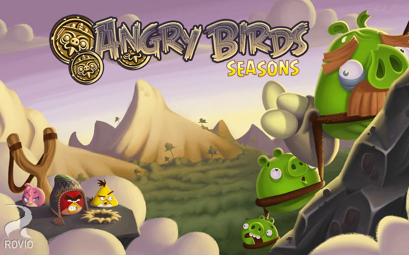 Screenshot 1 for Angry Birds Seasons