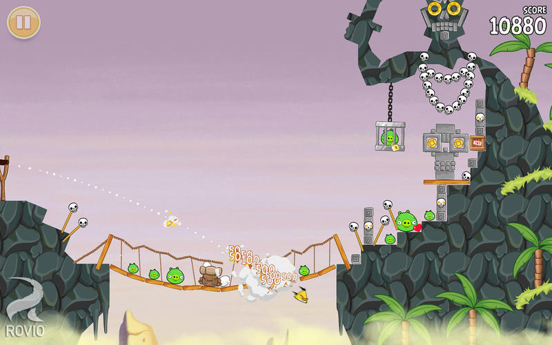Screenshot 2 for Angry Birds Seasons
