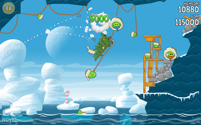 Screenshot 3 for Angry Birds Seasons