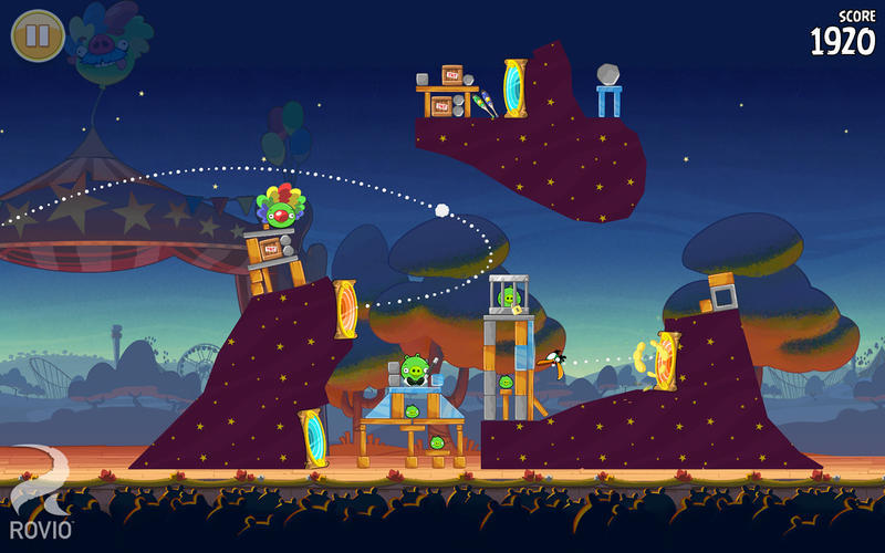 Screenshot 4 for Angry Birds Seasons