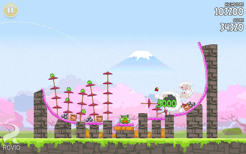 Screenshot 5 for Angry Birds Seasons