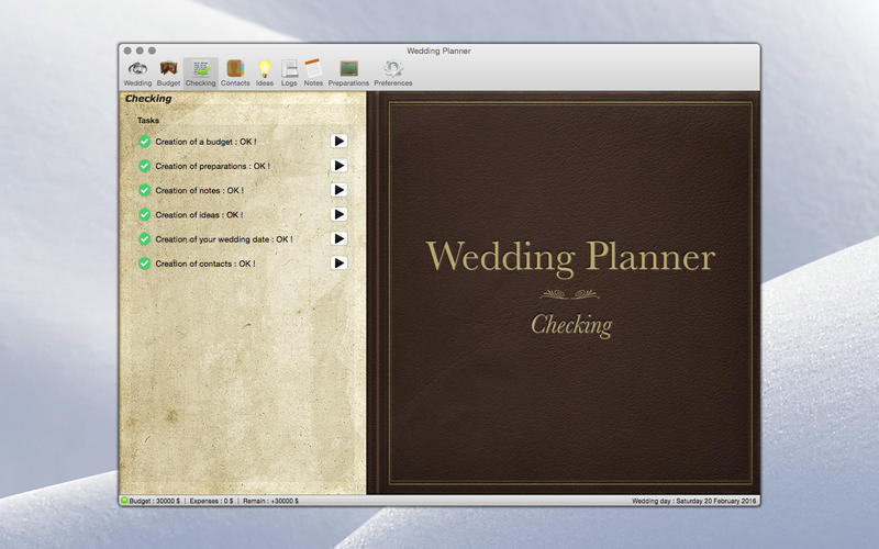 Screenshot 2 for Wedding Planner
